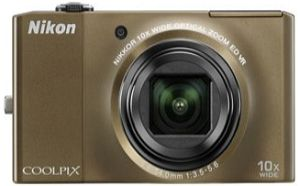 Nikon Coolpix S8000 brown (VMA513E1)