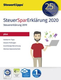 Akademische Arbeitsgemeinschaft SteuerSparErklärung Plus 2020, ESD (deutsch) (PC)