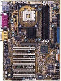 ASUS P4S533, SiS645, Audio (CMI-8736) (PC-2700 DDR)