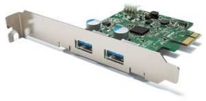 Buffalo IFC-PCIE2U3, 2x USB 3.0, PCIe 2.0 x1
