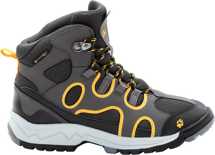 Jack Wolfskin Crosswind Texapore Mid burly yellow (Junior)
