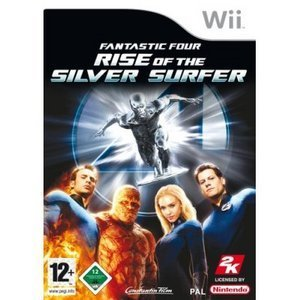 Fantastic Four 2 - Rise of the Silver Surfer (deutsch) (Wii)