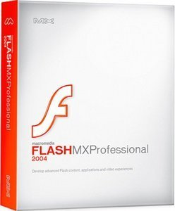 Adobe: Flash MX 2004 Professional Update1 (z Flash 5/MX) (PC+MAC) (PFD070G100)