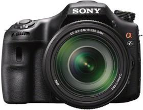 Sony Alpha 65 schwarz mit Objektiv AF 18-135mm 3.5-5.6 DT SAM (SLT-A65VM)