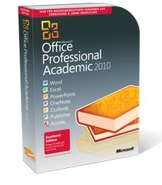 Microsoft: Office 2010 Professional, EDU (German) (PC) (T6D-00014)
