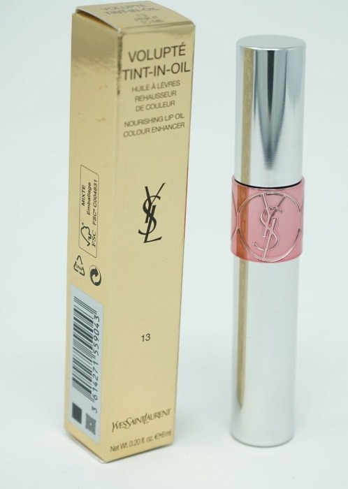 Yves Saint Laurent Volupté Tint in Oil Lipgloss 13 Pink, Myself & I 3.5ml -- via Amazon Partnerprogramm