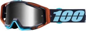 100% Racecraft Goggle ergono/mirror silver lens (50110-246-02)