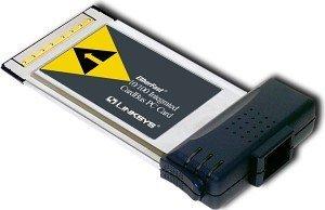 Linksys PCM200, 1x 100Base-TX, Cardbus