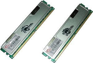 G.Skill Value DIMM Kit   2GB, DDR2-800, CL4-4-3-5 (F2-6400CL4D-2GBHK)