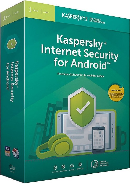 Kaspersky Lab Internet Security for Android 2019, 1 User, 1 Jahr (deutsch) (Multi-Device) (KL1091G5AFS-9)