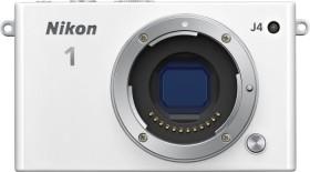 Nikon 1 J4 weiß Body