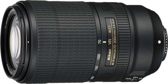 Nikon AF-P 70-300mm 4.5-5.6E ED VR black (JAA833DA)
