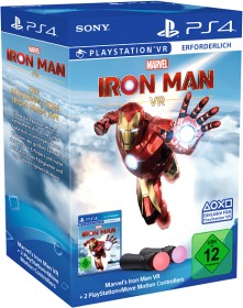 Sony PlayStation Move Motion Controller - Iron Man VR Bundle (PS4) (9369806)