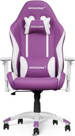 AKRacing California Gamingstuhl, violett/weiß (AK-CALIFORNIA-NAPA)