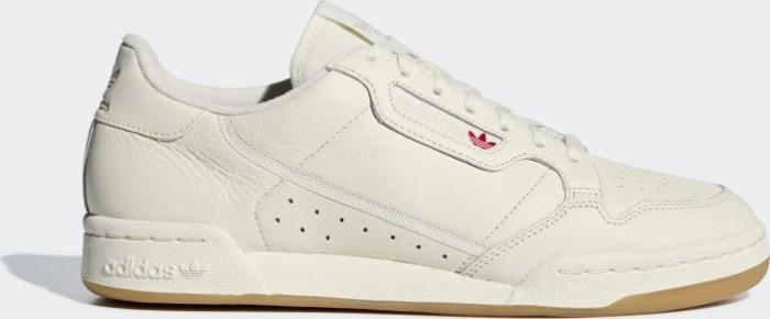 brand new 263a6 f28b2 adidas Continental 80 off white raw white gum 3 (BD7975)