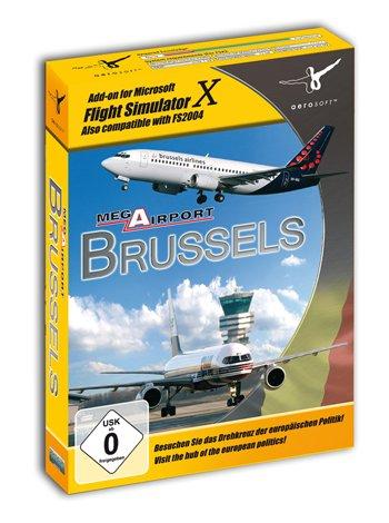 Flight Simulator X - Mega Airport Brussels (Add-on) (deutsch) (PC)