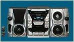 Sharp BA-1500H mit 3-fach CD, Tuner, Double Tape