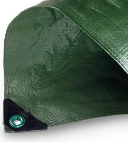 Noor Hobby Garten-Abdeckplane grün 5x6m (0430506FXXGR)