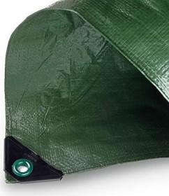 Noor Hobby Garten-Abdeckplane grün 6x8m (0430608FXXGR)