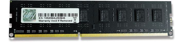 G.Skill NT Series DIMM 2GB, DDR3-1333, CL9-9-9-24 (F3-10600CL9S-2GBNT)