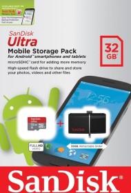 SanDisk Ultra Dual 32GB + 32GB microSDHC, USB-A 3.0/USB 2.0 Micro-B (SDDD2-032G-G46USD)