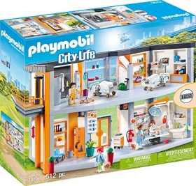 playmobil City Life - Großes Krankenhaus mit Einrichtung (70190)
