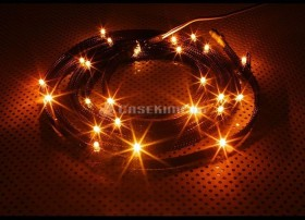 NZXT Sleeved LED Kit orange 100cm, 12 LED (CB-LED10-OR)