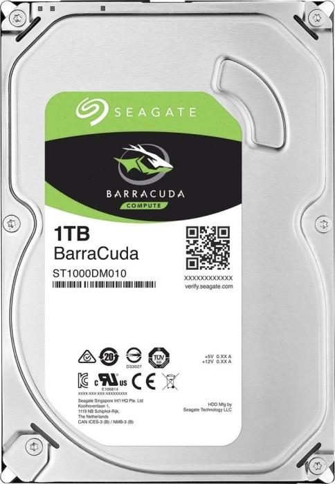 "Seagate BarraCuda Compute 1TB, 3.5"", SATA 6Gb/s, bulk (ST1000DM010)"