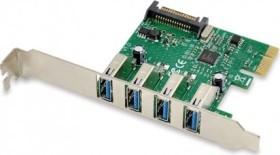 Conceptronic 4x USB 3.0, PCIe 2.0 x1 (EMRICK02G)
