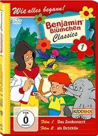 Benjamin Blümchen Classics Vol. 1 - Das Zookonzert/... als Detektiv