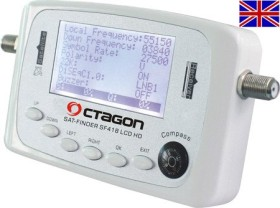 Octagon Sat-finder SF-418 LCD HD + Battery pack (English Version)