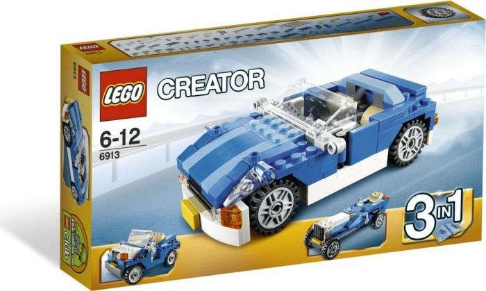 LEGO - Creator 3in1 - Blue Roadster (6913) -- via Amazon Partnerprogramm