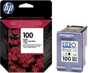 HP Druckkopf mit Tinte 100 grau photo (C9368AE)