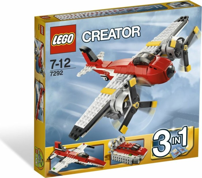 LEGO - Creator 3in1 - Propeller Adventures (7292) -- via Amazon Partnerprogramm