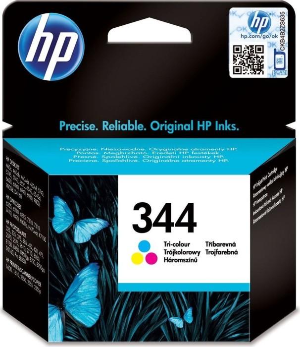 HP 344 Druckkopf mit Tinte farbig (C9363EE)