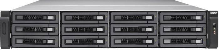 QNAP Turbo Enterprise Station TES-1885U-D1521-32GR, 2x 10Gb SFP+, 4x Gb LAN, 32GB Reg ECC RAM, 2HE