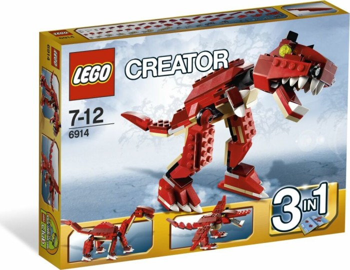LEGO - Creator 3in1 - Prehistoric Hunters (6914) -- via Amazon Partnerprogramm