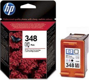HP 348 Druckkopf mit Tinte farbig photo (C9369EE)