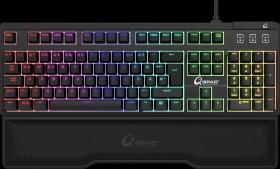QPAD MK-75 Pro Gaming Keyboard, MX RGB BROWN, USB, DE (9J.P7Q81.K0G)