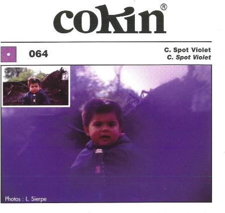 Cokin Filter Center-Spot violett (WA1T064/WA1T074) -- via Amazon Partnerprogramm