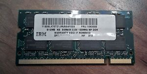 Infineon SO-DIMM 512MB, DDR-266, CL2 -- © bepixelung.org
