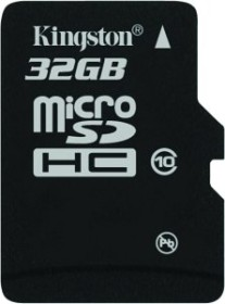 Kingston microSDHC 32GB, Class 10 (SDC10/32GBSP)