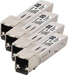 HPE MSA2040 Gigabit SAN-Transceiver, RJ-45, SFP+, 4er-Pack (C8S75A)