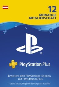 Sony PlayStation Plus Subscription Card - 365 Tage Abo für österreichische Accounts (Download) (PS3/PS4/PSVita)