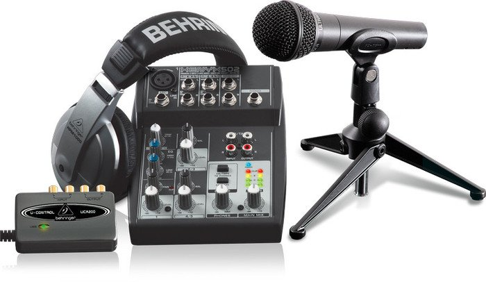 Behringer Podcastudio USB -- © Copyright 200x, Behringer International GmbH