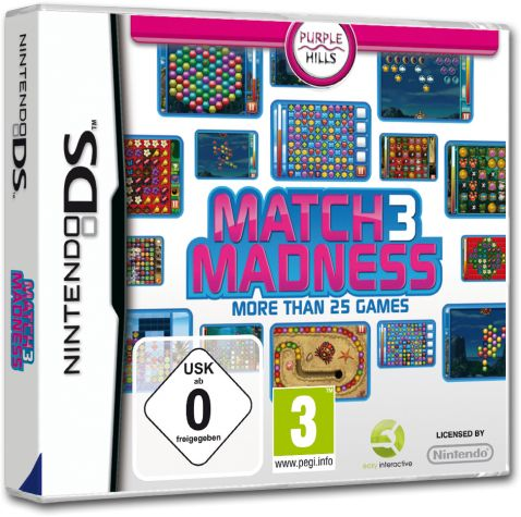 Match 3 Madness (German) (DS)