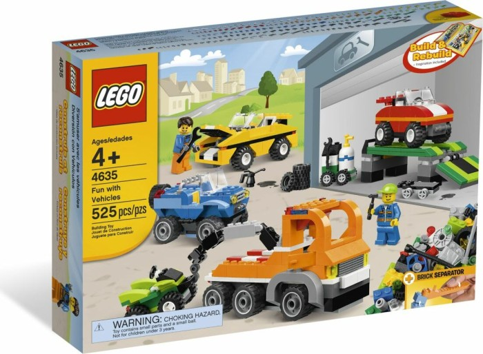 LEGO - Bricks & More - Fun with Vehicles (4635) -- via Amazon Partnerprogramm