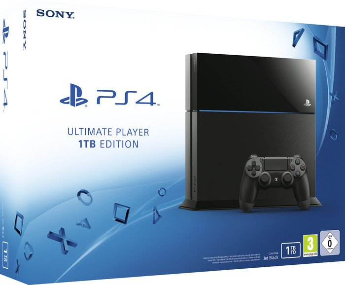 Sony PlayStation 4 - 1TB schwarz (verschiedene Bundles)