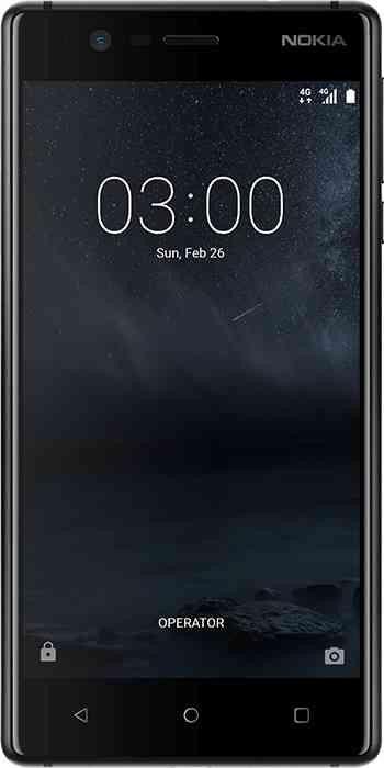 Nokia 3 Single-SIM schwarz