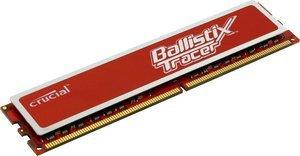 Crucial Ballistix Tracer RED DIMM 2GB, DDR2-800, CL4-4-4-12 (BL25664AR80A)